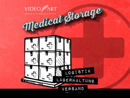 Medical Storage by VideoART – Logistikdienstleistungen für den Medizinbereich