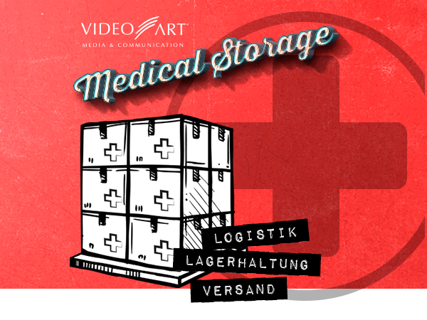 Medical Storage by VideoART – Logistikdienstleistungen für den Medizinbereich